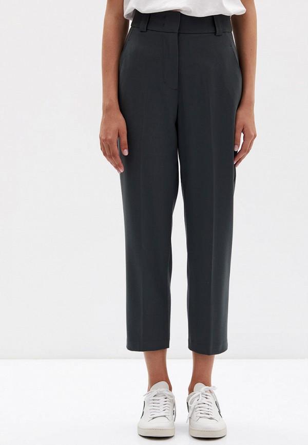 женские классические брюки lime, серые