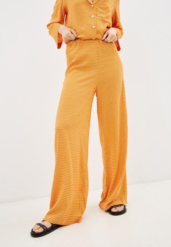 женские повседневные брюки lorani, оранжевые