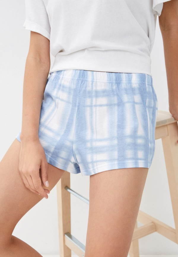 женские шорты befree, голубые