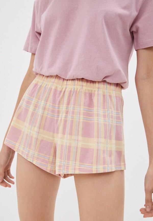 женские повседневные шорты befree, розовые