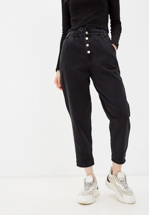 женские джинсы-мом befree, черные