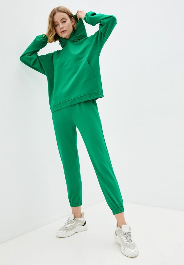 Костюм спортивный Euros Style зеленого цвета
