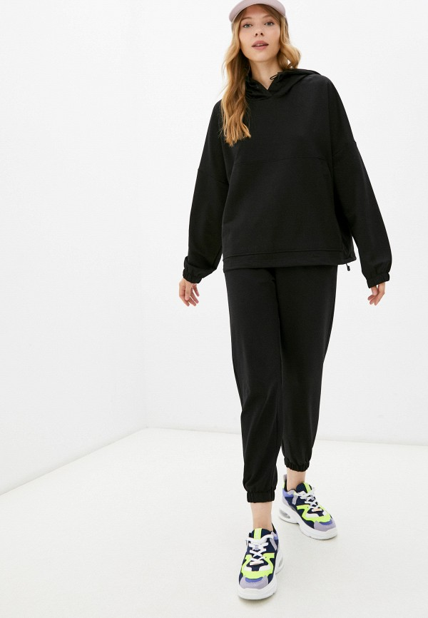 женский спортивный костюм euros style, черный