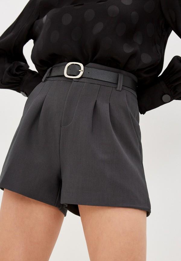 женские повседневные шорты euros style, серые