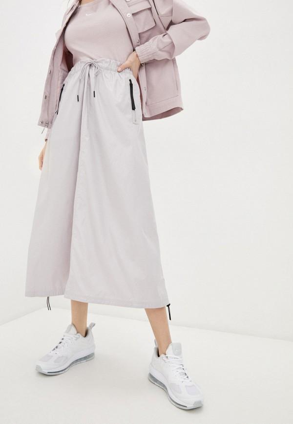 женская спортивные юбка nike, серая