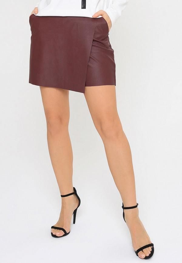 женская юбка bornsoon, бордовая