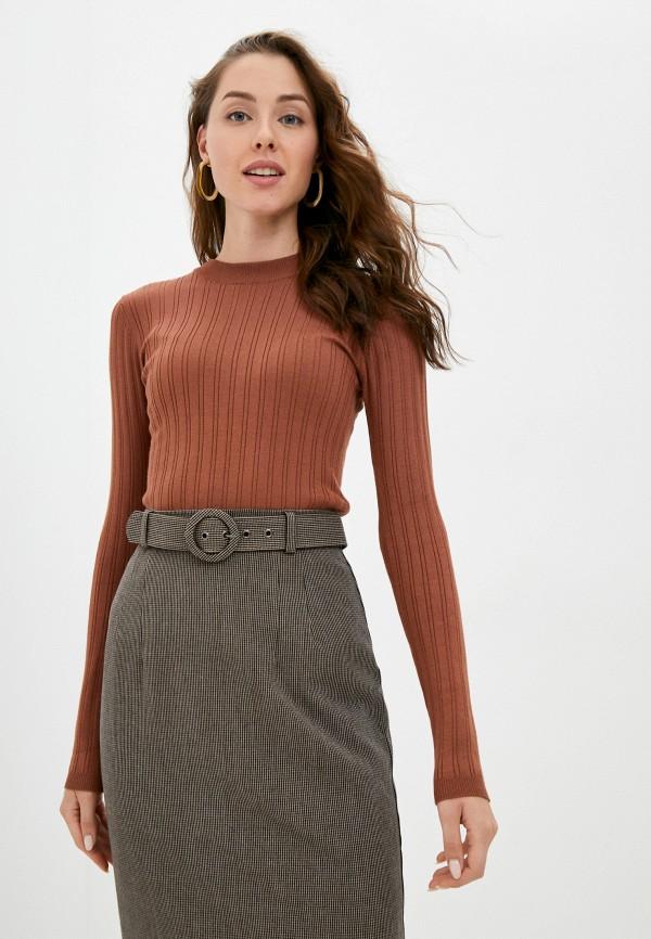 женский джемпер o'stin, коричневый