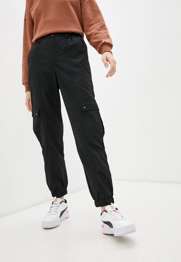 женские брюки карго o'stin, черные