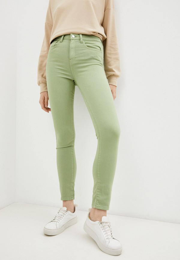 женские повседневные брюки o'stin, зеленые