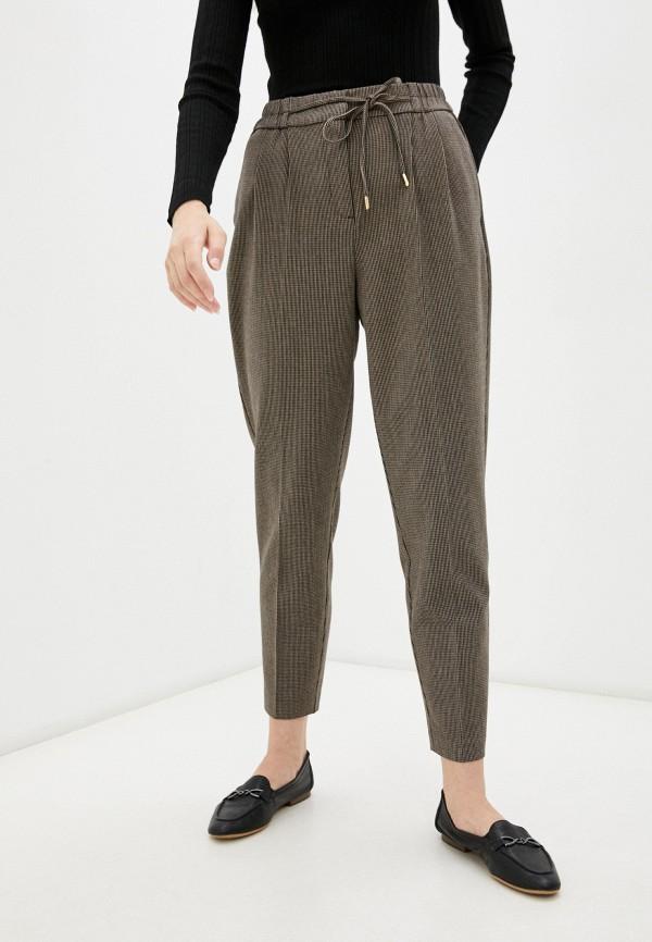 женские повседневные брюки o'stin, коричневые