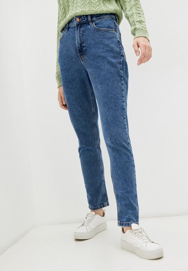 женские джинсы-мом o'stin, синие