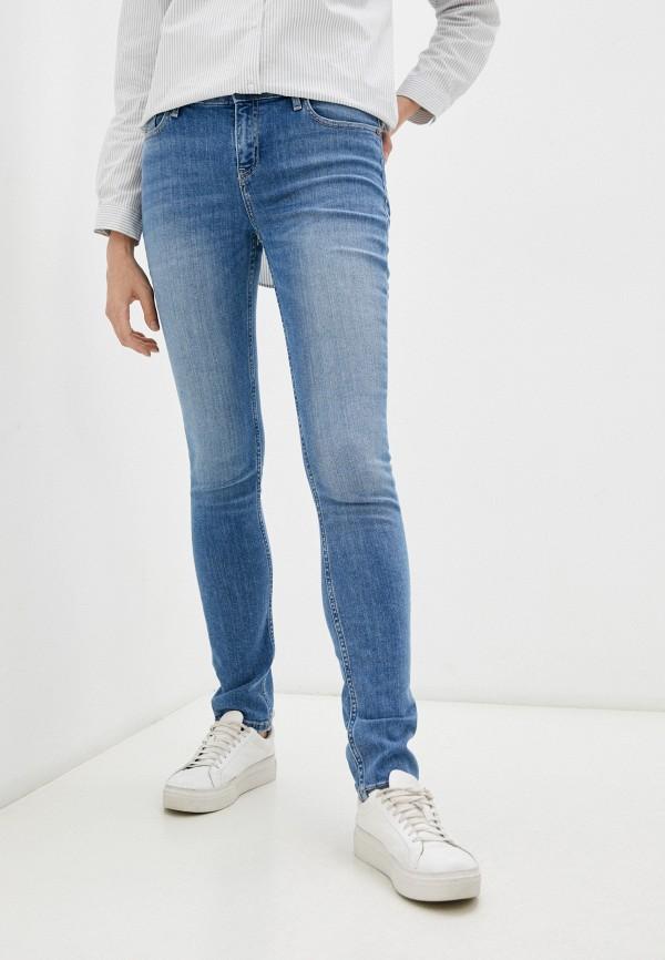 женские джинсы скинни o'stin, голубые