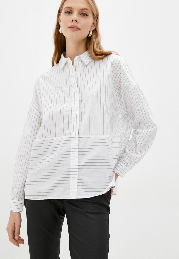 женская блузка с длинным рукавом o'stin, белая