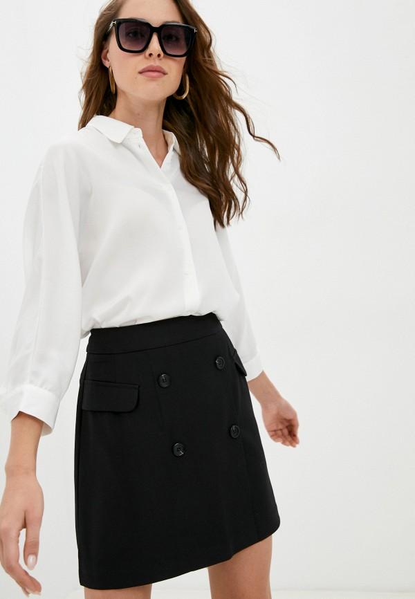 женская блузка с коротким рукавом o'stin, белая