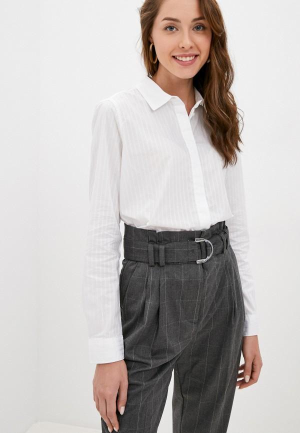 женская рубашка с длинным рукавом o'stin, белая
