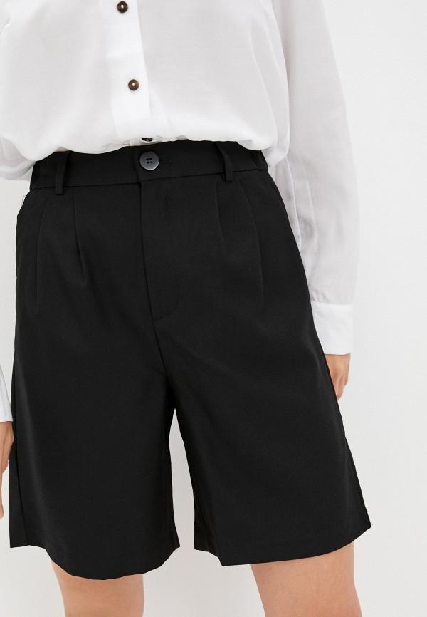 женские повседневные шорты o'stin, черные