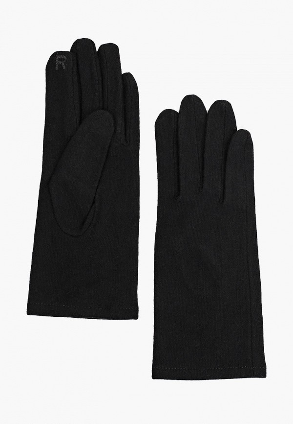 женские текстильные перчатки love republic, черные