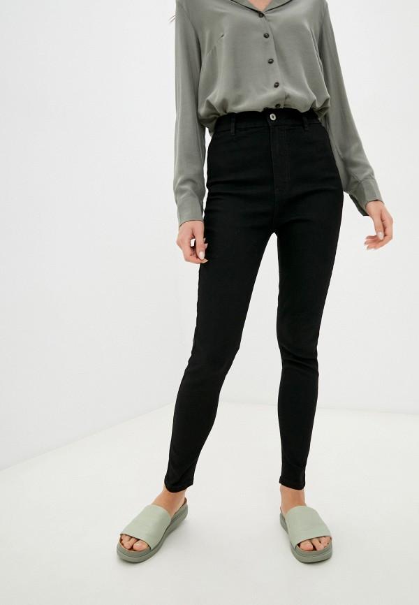 женские джинсы скинни befree, черные