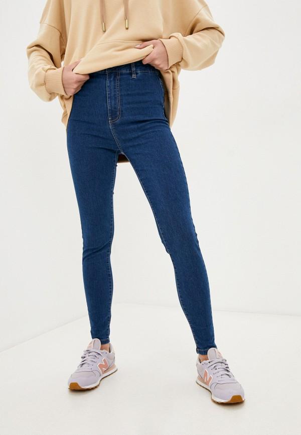 женские джинсы скинни befree, синие