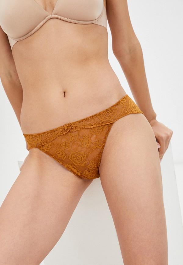 женские трусы-слипы intimissimi, оранжевые