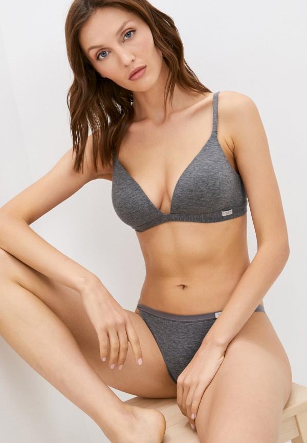 женский бюстгальтер без косточек intimissimi, серый