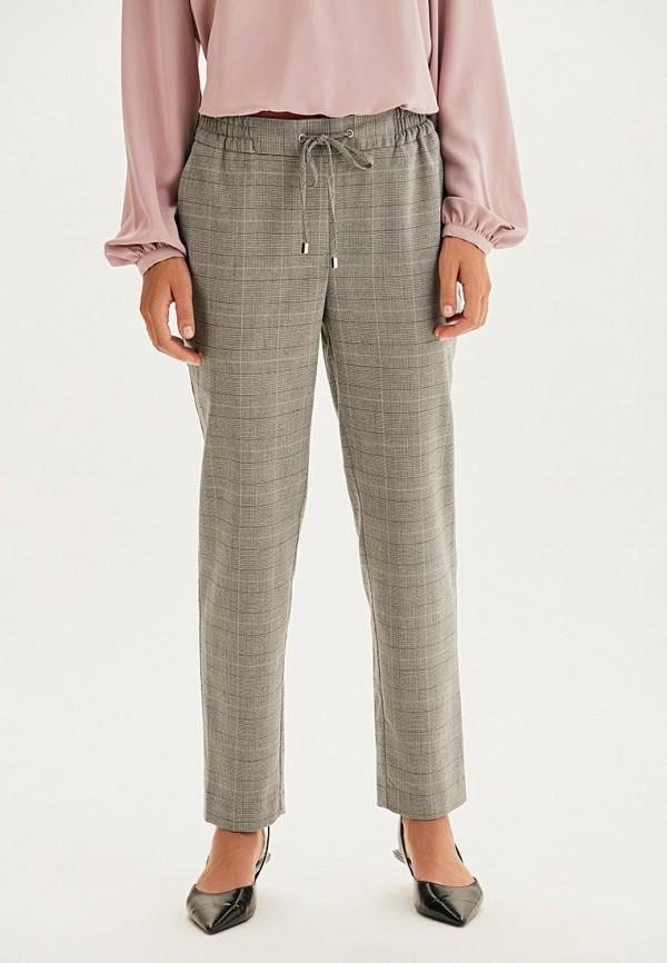 женские повседневные брюки love republic, серые