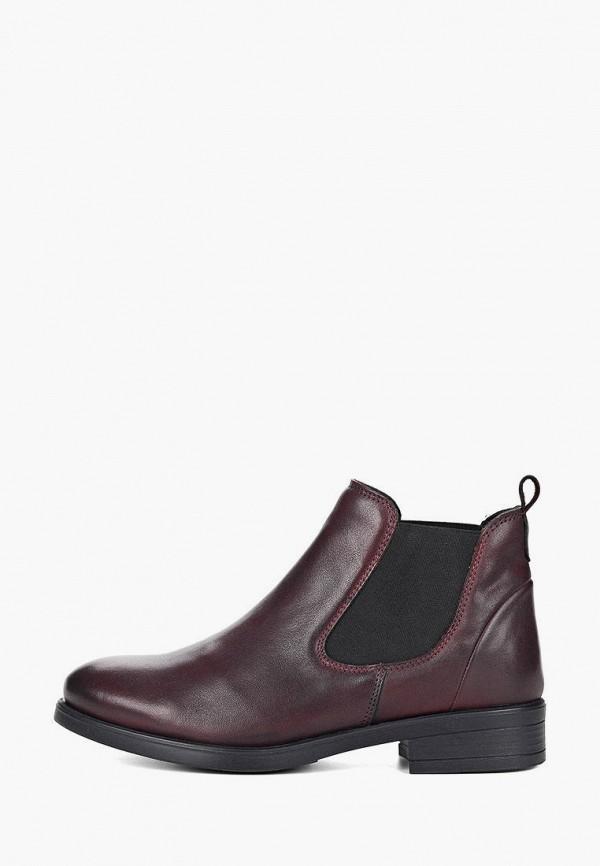 женские ботинки-челси respect, бордовые