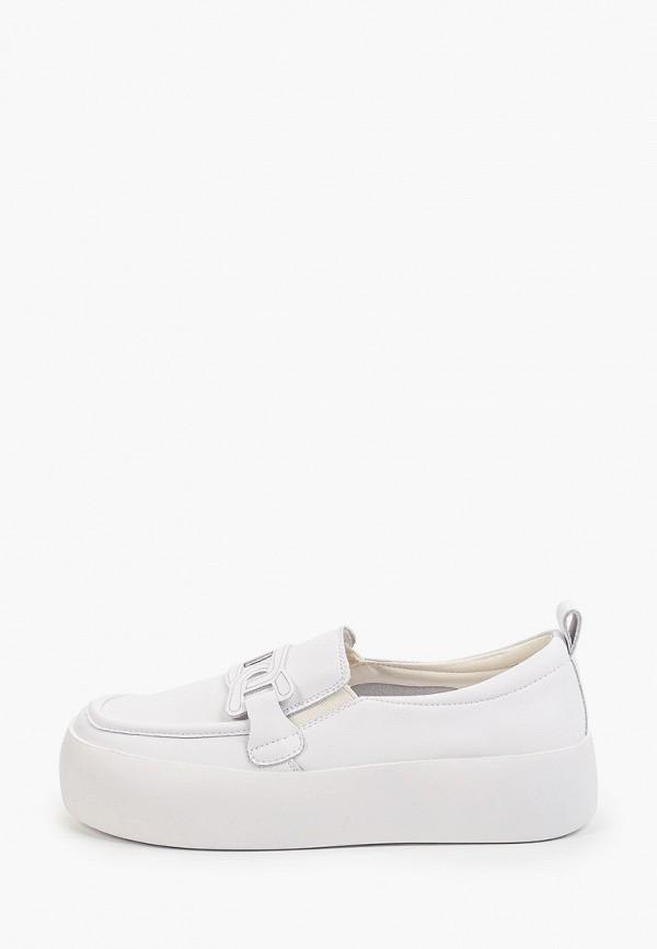 Слипоны Sprincway белого цвета