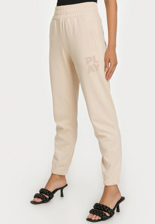 женские зауженные брюки millennials, бежевые