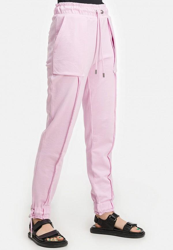 женские спортивные брюки millennials, розовые