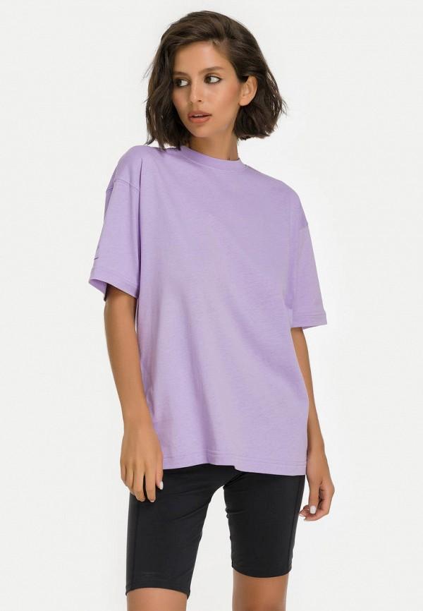 женская футболка millennials, фиолетовая
