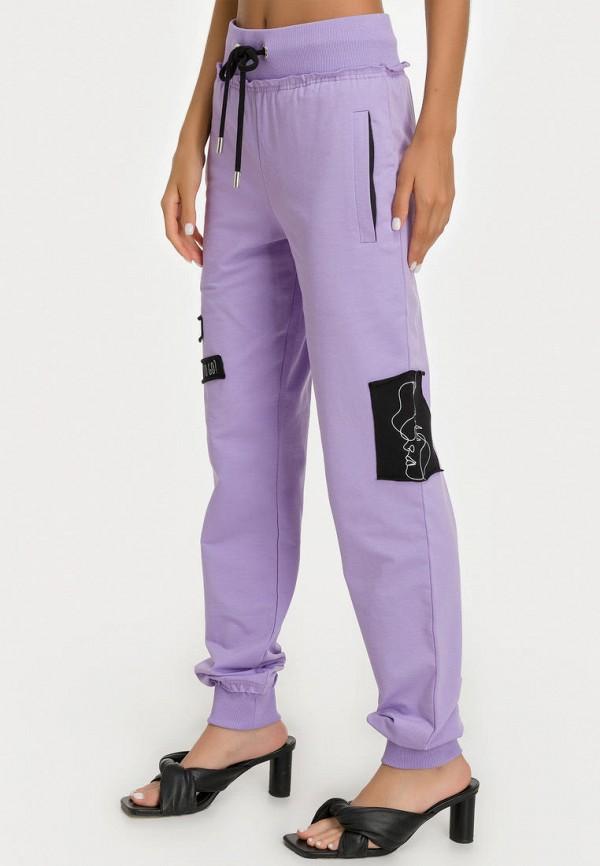 женские зауженные брюки millennials, фиолетовые