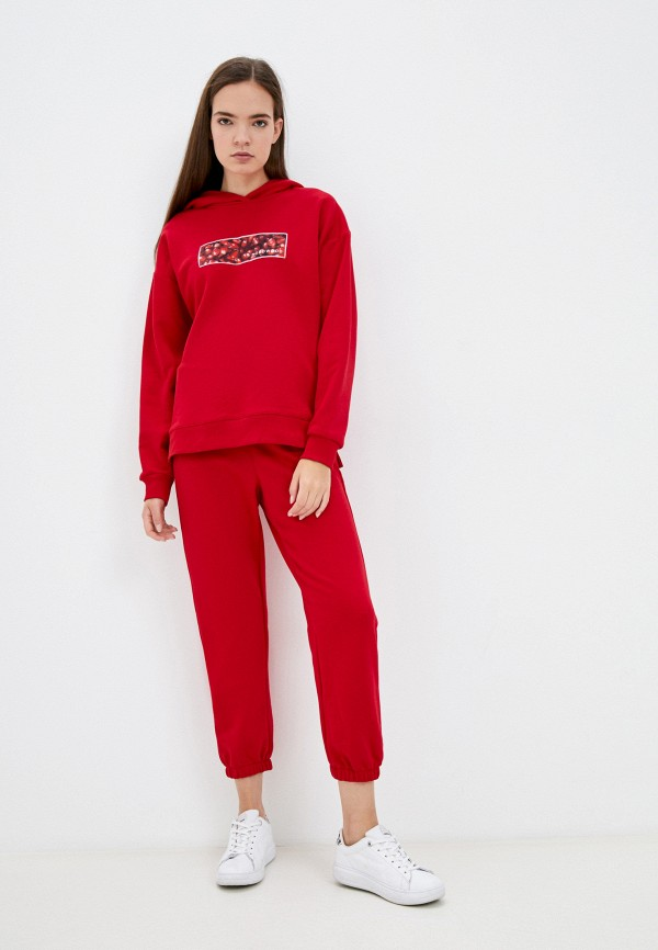 Костюм спортивный Oddwood красного цвета
