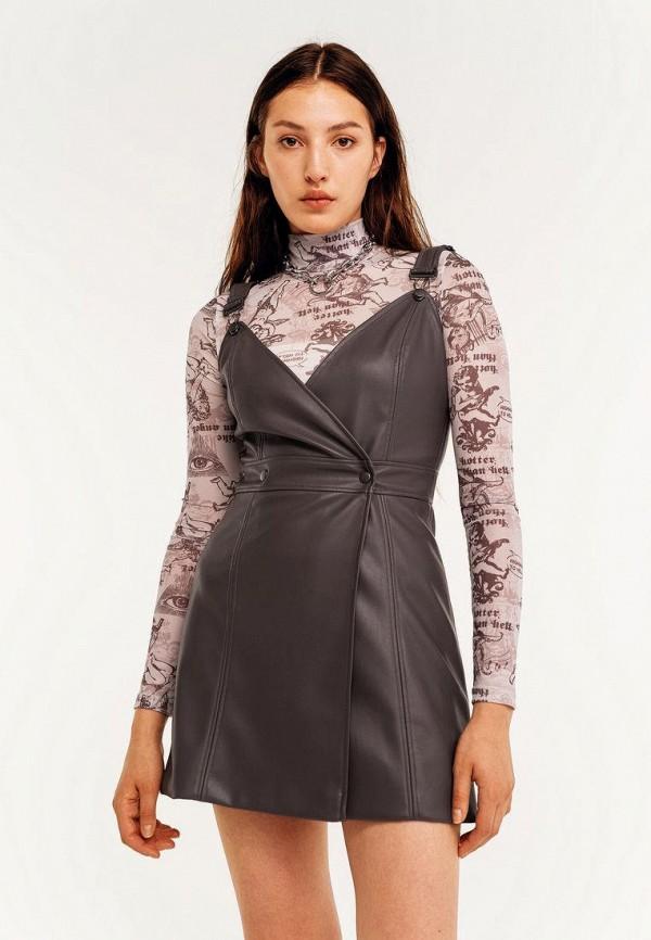 Платье Befree серого цвета