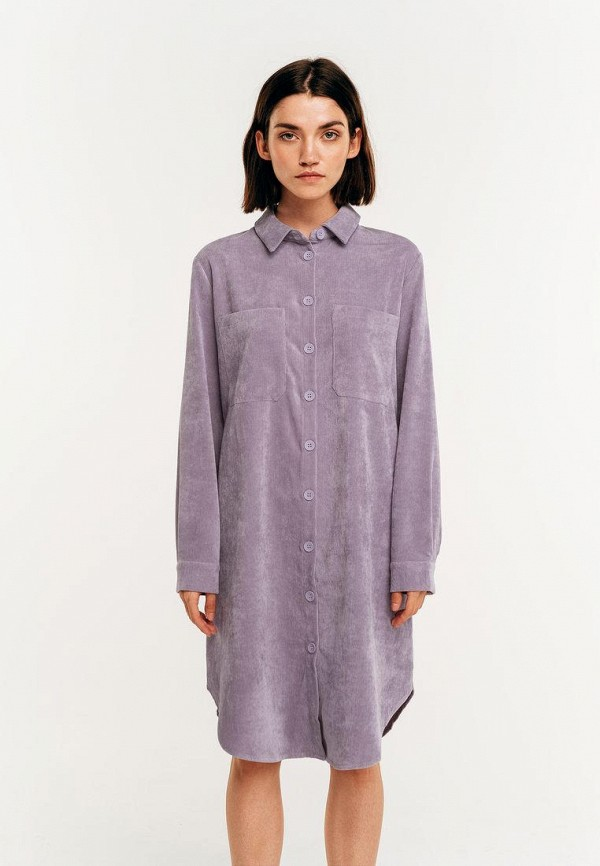 Платье Befree фиолетового цвета