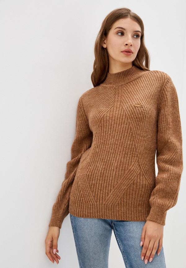 Джемпер Lacoste коричневого цвета
