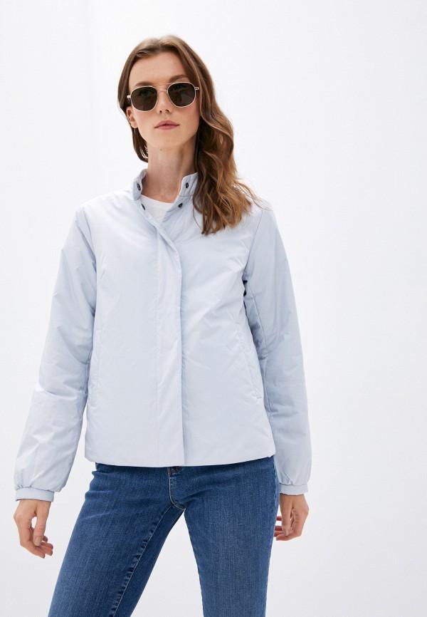 женская утепленные куртка baon, голубая
