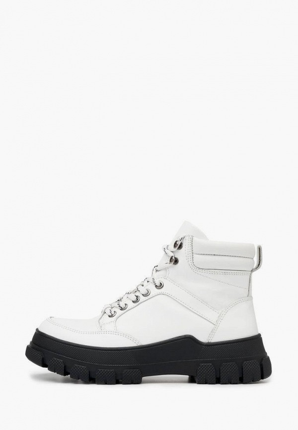 Ботинки Pierre Cardin белого цвета