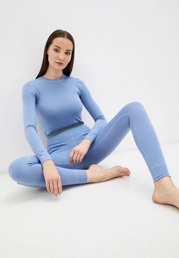 женское термобелье norveg, голубое