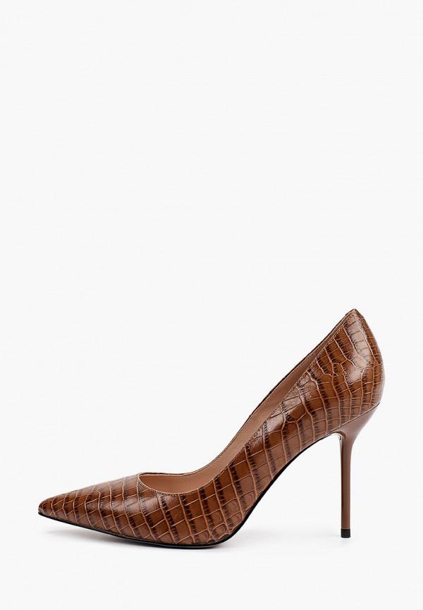 женские туфли-лодочки basconi, коричневые