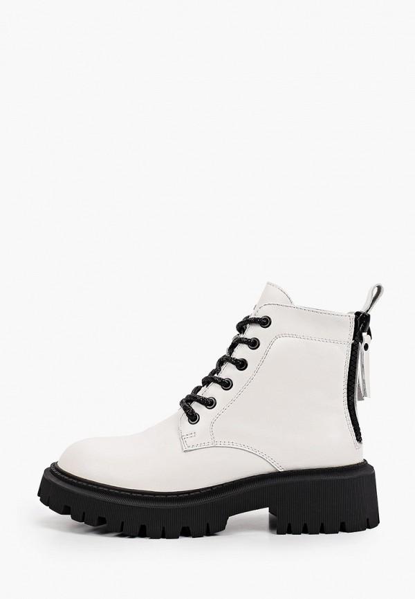 женские высокие ботинки vitacci, белые