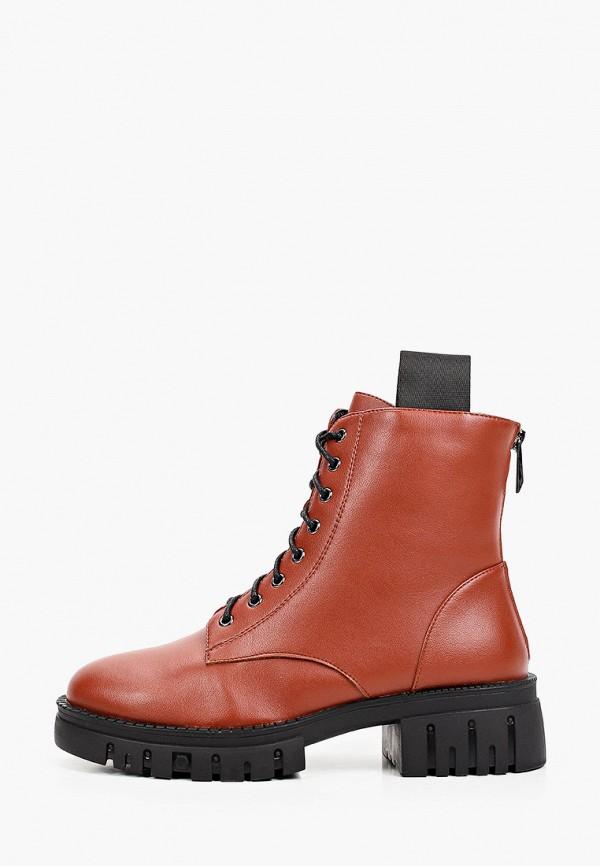 женские высокие ботинки vitacci, коричневые