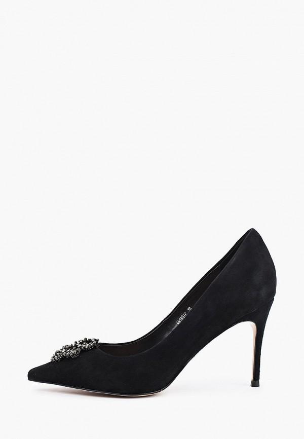 женские туфли-лодочки vitacci, черные