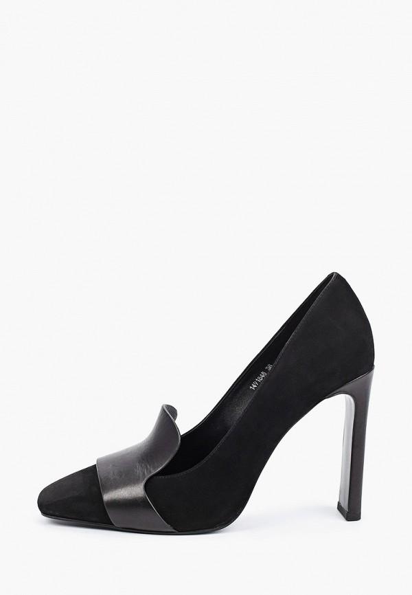 женские туфли с закрытым носом vitacci, черные