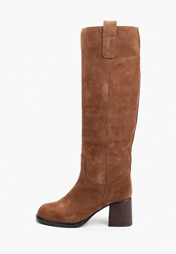 женские сапоги vitacci, коричневые