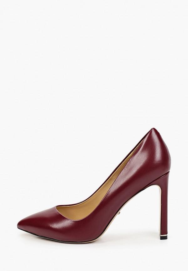 женские туфли с закрытым носом vitacci, бордовые