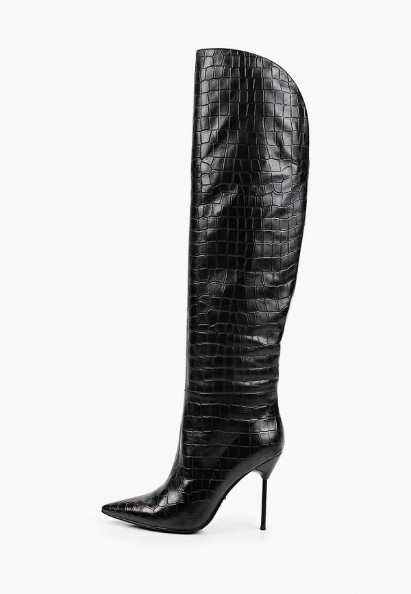 женские ботфорты vitacci, черные