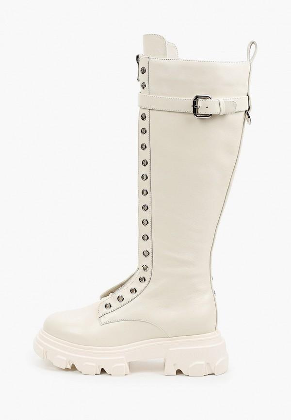 женские сапоги vitacci, белые