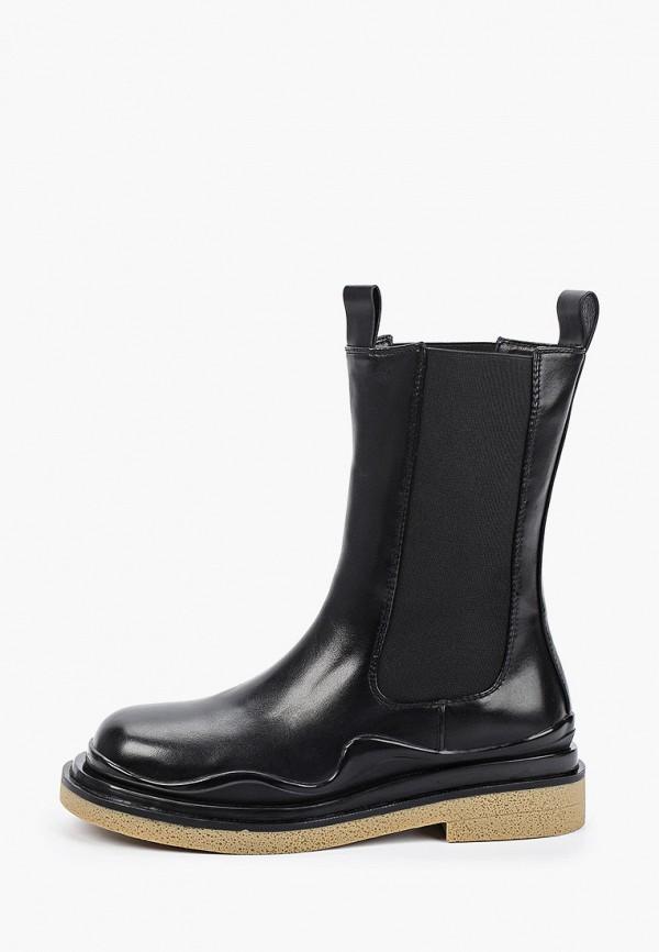 женские ботинки-челси vitacci, черные