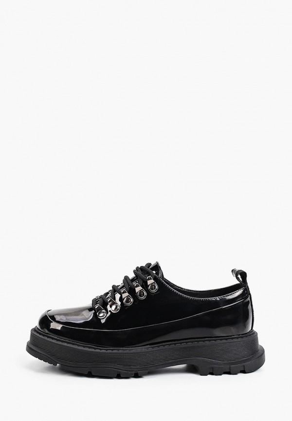 женские низкие ботинки vitacci, черные